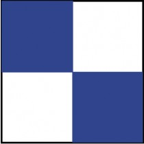 Checkerboard Safety Tape, Blue & White (#CBT204)
