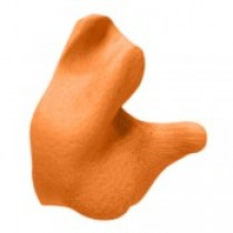 Custom Molded Earplugs, orange (#CEP001-O)