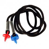 Custom Molded Earplug Neckcord, blue (#CEPNC-B)