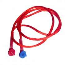 Custom Molded Earplug Neckcord, red (#CEPNC-R)