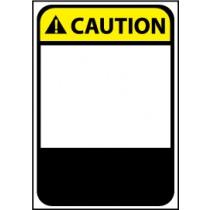 Caution Machine Label (blank) (#CGA20AP)