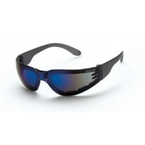 CrossFire Shield Foam Lined, blue mirror lens (#548CF)