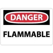 Danger Flammable Sign (#D126)