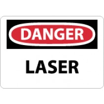 Danger Laser Sign (#D136)
