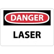 Danger Laser Sign (#D136)