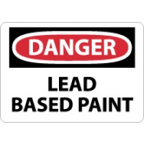 Danger Lead Based Paint Sign (#D299)