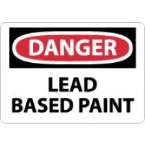 Danger Lead Based Paint Sign (#D299)