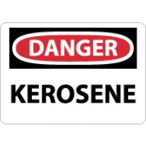 Danger Kerosene Sign (#D334)