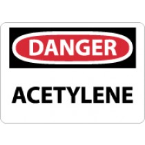 Danger Acetylene Sign (#D3)