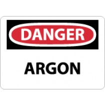 Danger Argon Sign (#D476)