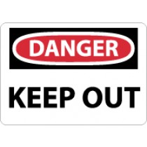 Danger Keep Out Sign (#D59)