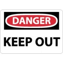 Danger Keep Out Sign (#D59)