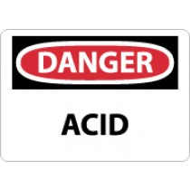 Danger Acid Sign (#D5)