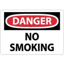 Danger No Smoking Sign (#D79)