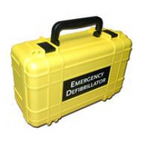 Lifeline Deluxe Hard Carrying Case, Yellow (#DAC-111)