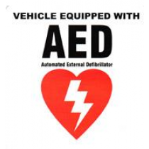 AED Vehicle Decal (#DAC-802)