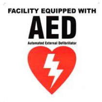 AED Facility Decal (#DAC-803)