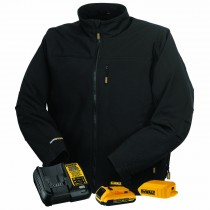 DEWALT® Unisex Heated Soft Shell Jacket Kitted (#DCHJ060ABD1)