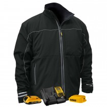 DEWALT® Unisex Heated Lightweight Soft Shell Jacket Kitted (#DCHJ072D1)
