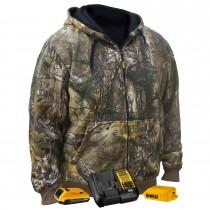 DEWALT® Unisex Heated RealTree® XTRA Camoflage Hoodie Sweatshirt Kitted (#DCHJ074D1)