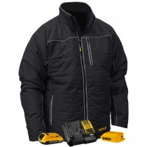 DEWALT® Unisex Heated Quilted Soft Shell Jacket Kitted (#DCHJ075D1)