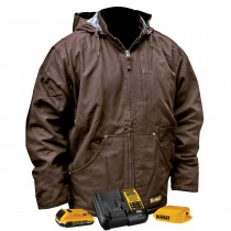 DEWALT® Unisex Heated Heavy Duty Work Coat Kitted (#DCHJ076ATD1)