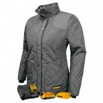 DEWALT® Women's Flannel Lined Quilted Jacket Kitted (#DCHJ084)