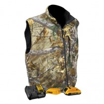 DEWALT® Realtree Xtra® Men's Camouflage Fleece Heated Vest (#DCHV085)