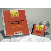 HAZWOPER: Decontamination Procedures Interactive CD (#C000DEC0ED)