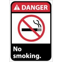 Danger No smoking ANSI Sign (#DGA20)