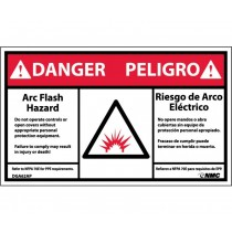 Arc Flash Danger Label (#DGA62AP)