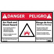 Arc Flash Danger Label (#DGA63AP)
