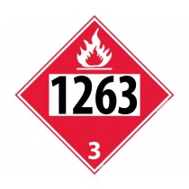 Paint Permanent 4-Digit Placard (#DL138)