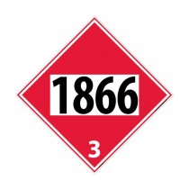 Resin Solution Permanent 4-Digit Placard (#DL142)