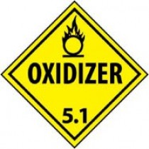Oxidized 5.1 DOT Shipping Label (#DL14AP)