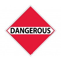 Dangerous Goods Class 9 DOT Placard (#DL17)