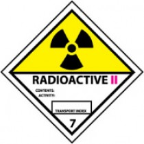 Radioactive II DOT Shipping Label (#DL26AP)
