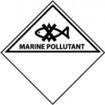 Marine Pollutant DOT Shipping Label (#DL52AP)