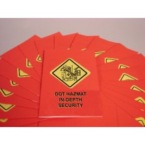 DOT In-Depth HAZMAT Security Training Booklet (#B0001760EX)