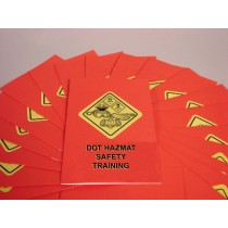 DOT HAZMAT Safety Training Booklet (#B0001740EX)