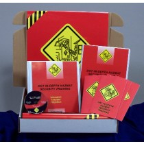 DOT In-Depth HAZMAT Security Training DVD Kit (#K0003209EO)