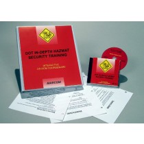 DOT In-Depth HAZMAT Security Training Interactive CD (#C0003200ED)