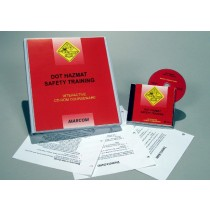 DOT HAZMAT Safety Training Interactive CD (#C0003180ED)