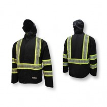 DEWALT® Waterproof Lightweight Packable Raincoat (#DRW11-ZGR)
