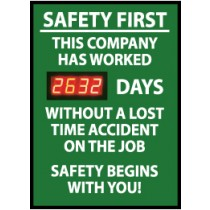 Safety First This Company... Digital Scoreboard (#DSB2)