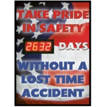 Take Pride In Safety Digital Scoreboard (#DSB50)