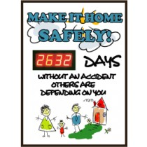 Make It Home Safely Digital Scoreboard (#DSB52)