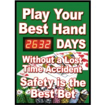 Play Your Best Hand Digital Scoreboard (#DSB53)
