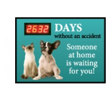 Days Without An Accident... Digital Scoreboard (#DSB56)
