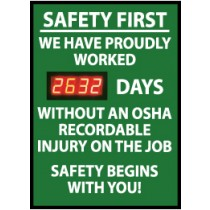 Safety First We Have Proudly... Digital Scoreboard (#DSB7)